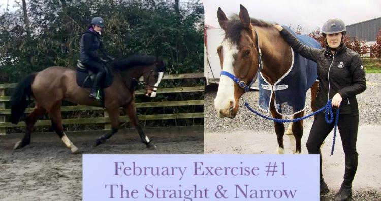 "February Exercise #1 – ""The Straight &Narrow!"""