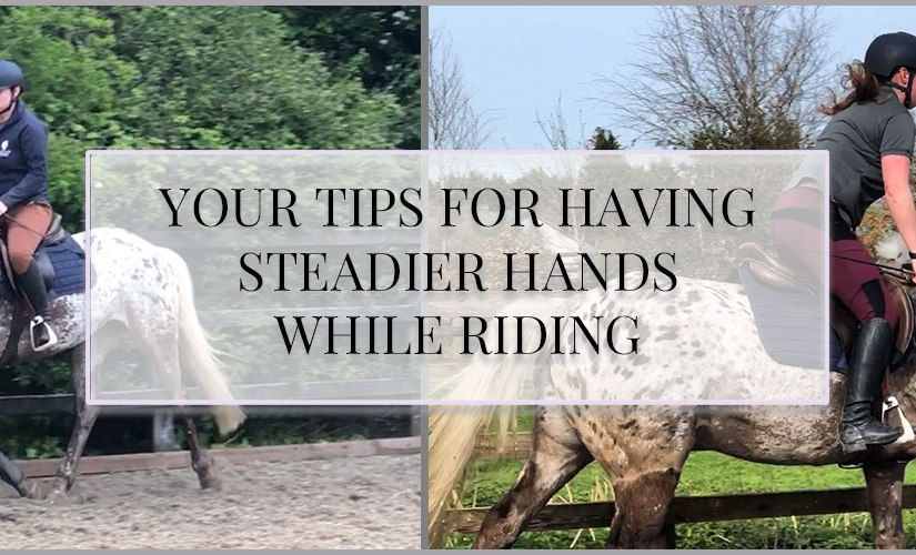 Your Tips for Having Steadier Hands whileRiding