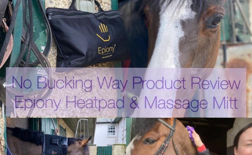 Product Review – Epiony Heatpad and MassageMitt