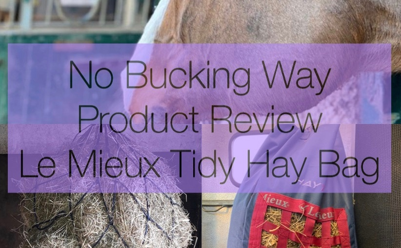 Product Review – Le Mieux Hay TidyBag